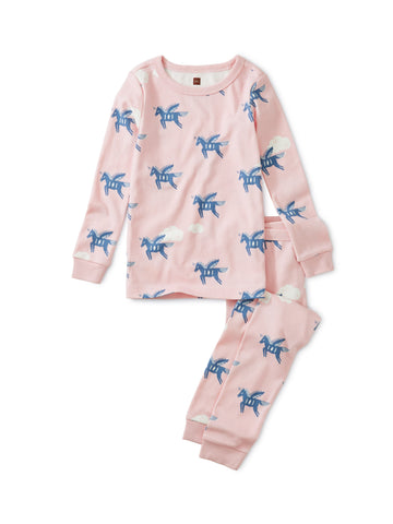 Long Sleeve 2pc. Pajama - Pegasus