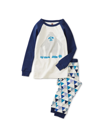 Long Sleeve 2pc Pajama - Yeti