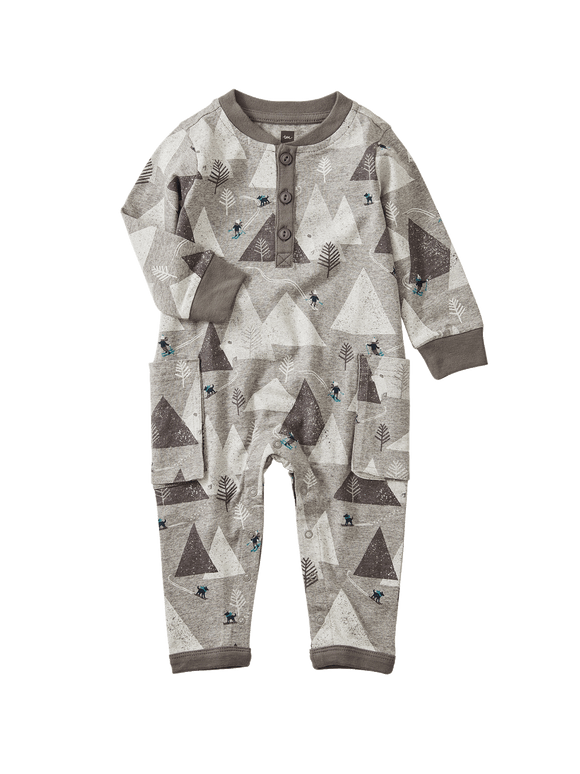 Ski Mountains Romper - Himalayan Ski