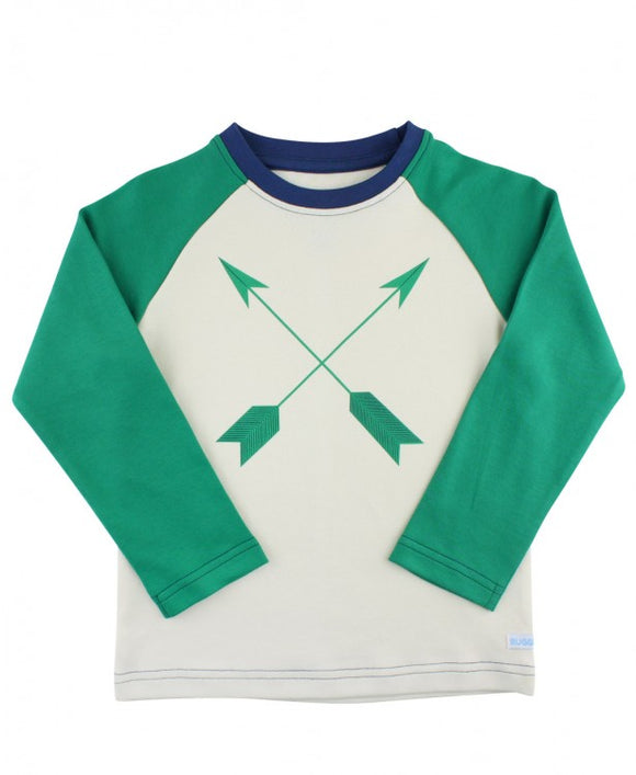 Arrow Raglan - Emerald
