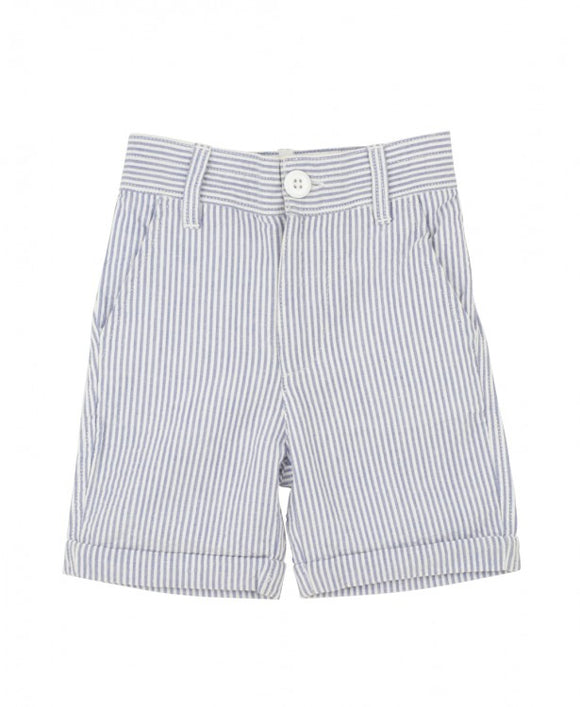 Seersucker Shorts - Blue
