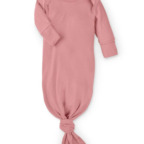 Newborn Infant Gown - Rose