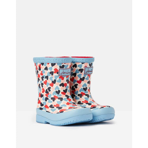 Baby Welly Boot - Multi Hearts