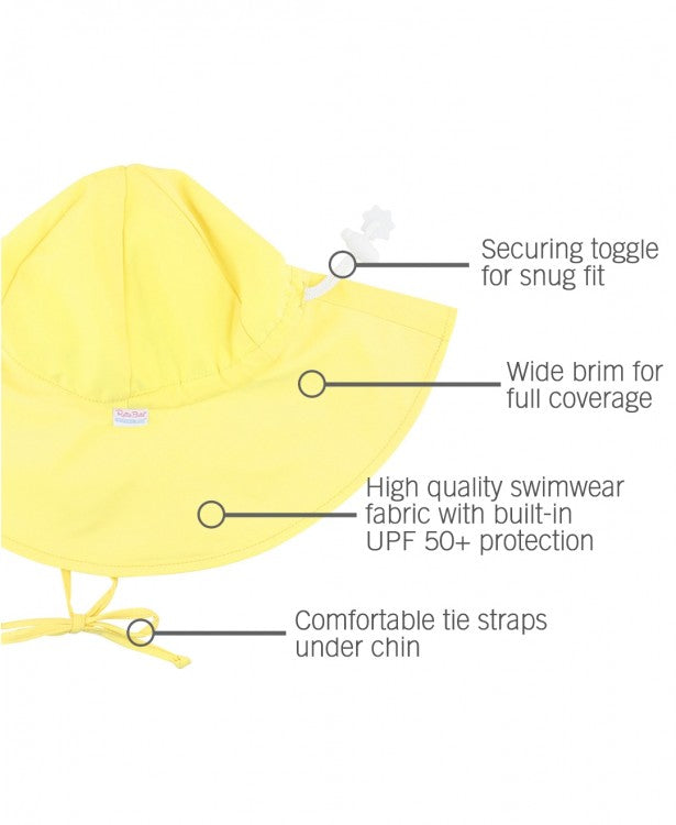 Sun Protective Hat - Lemon