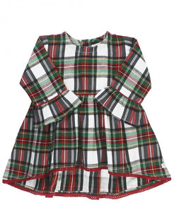 Juniper Plaid High-Low Top