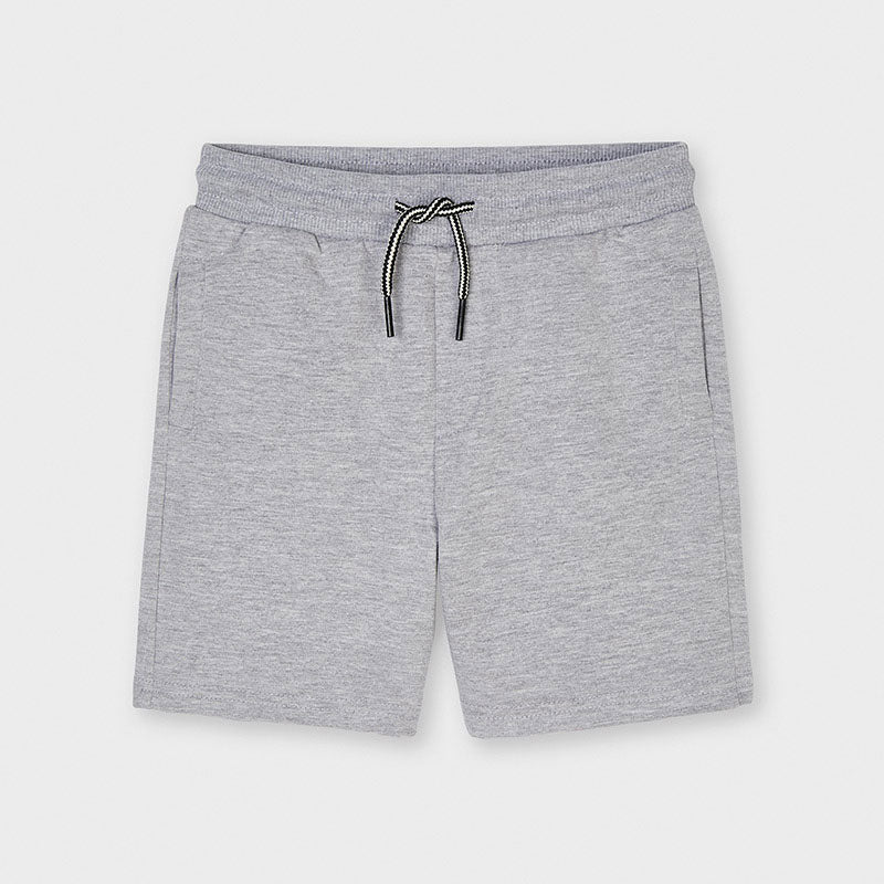611 - Boys Knit Short - Gray