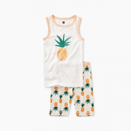 Graphic Tank Pajama - Pineapples A Plenty