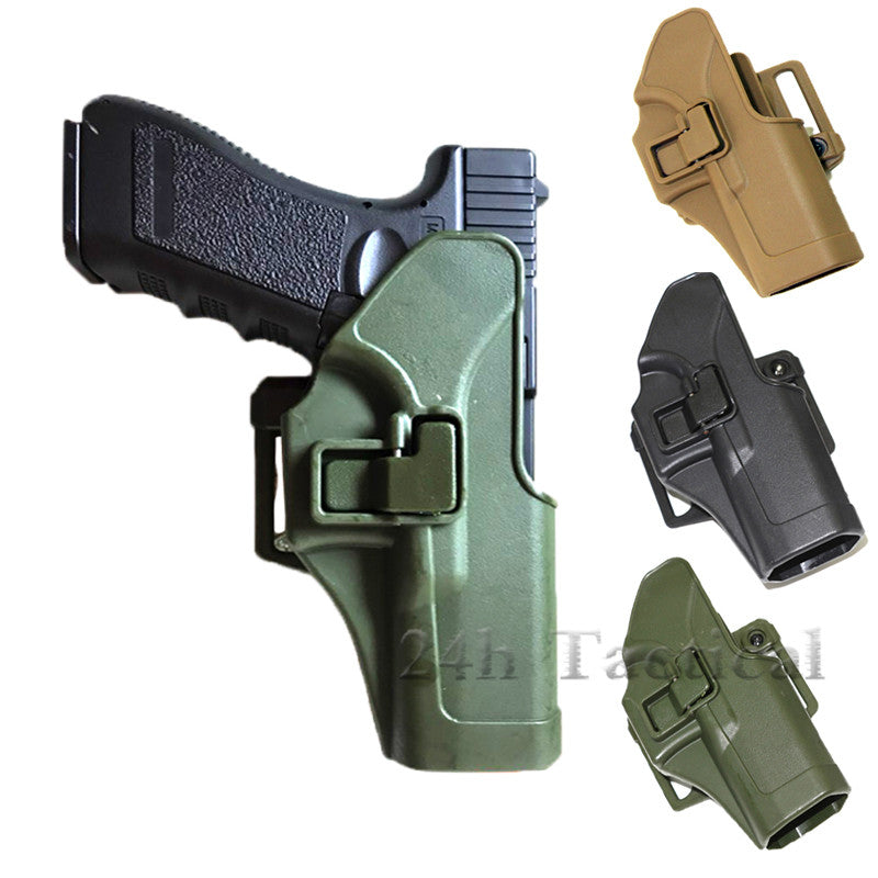 Quick Tactical CQC Right Hand Paddle Pistol Holster for Glock 17 19 22 23 31 32