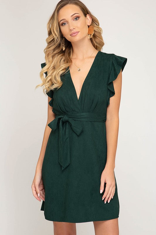 Suede Night Dress
