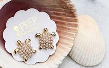 Turtle Pearl Earrings