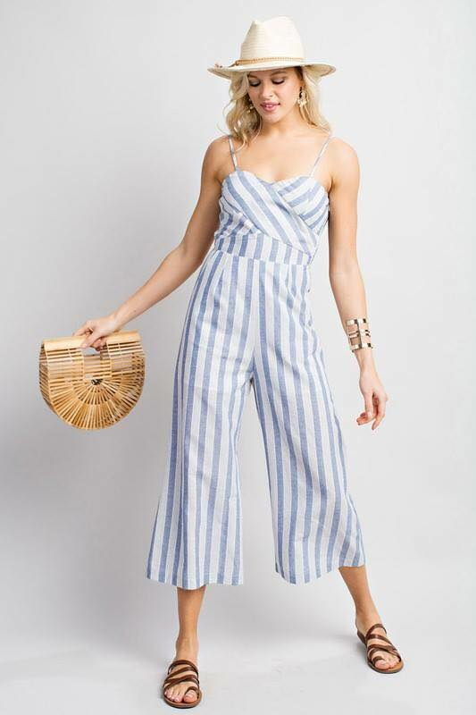 Summer Stripes Jumpsuit