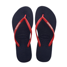 Slim Logo Pop Up Sandal Navy/Ruby