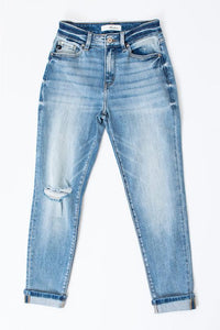 Andrea Kancan High Rise Mom Jean