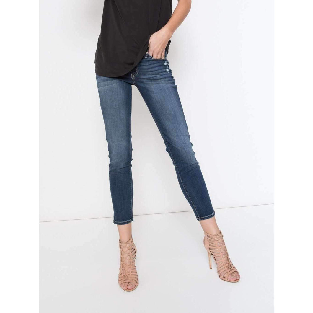 Premium Denim Ankle Cut Skinny Jean