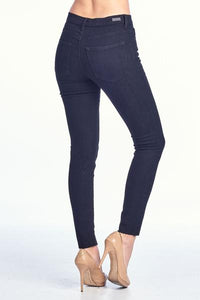 High Rise Skinny Jean with Front Slit