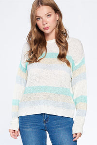 Chloe Striped Sweater