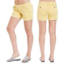Dear John Hampton Shorts-Mellow Yellow