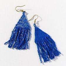 Ink + Alloy Luxe Fringe Earrings