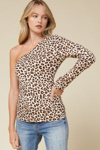 Leopard one long sleeve