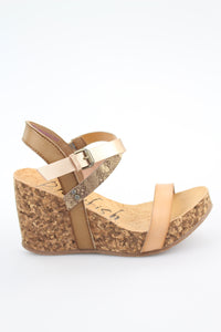 Blowfish Hirosha Wedge Nude/Blush