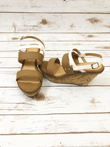 Brown Cork Wedge