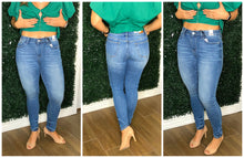 Pin-Tacked Skinny Jeans