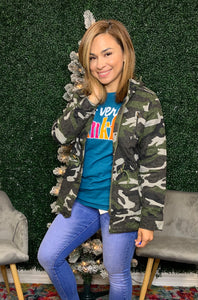Camouflage Riley Jacket