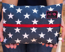 Red White & Beautiful Makeup Junkie Bag