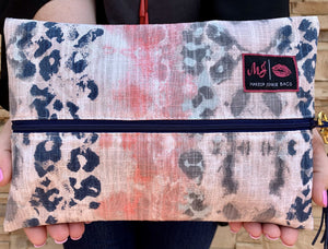 Indian Paintbrush Makeup Junkie Bag