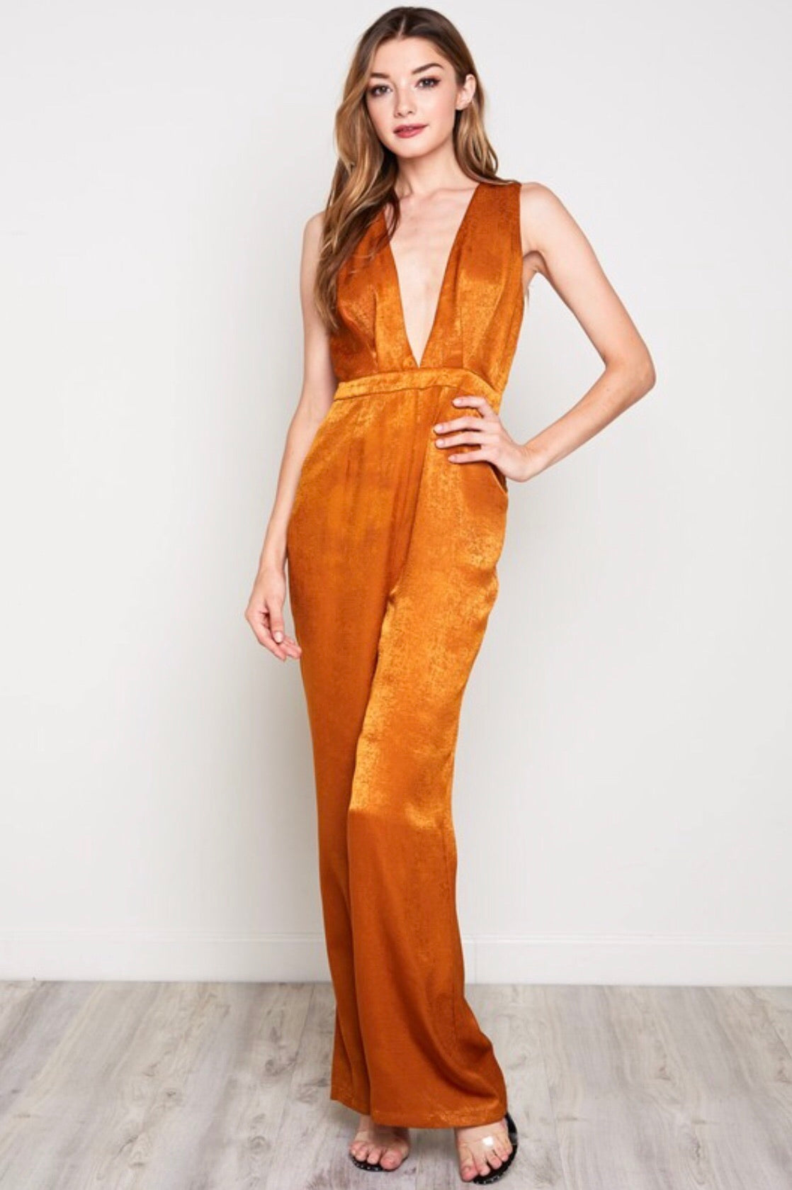 Mustard Gold Jumpsuit