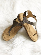 GIRLS Amelie Pewter Sandal