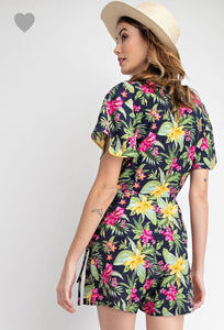 Tropical Breeze Romper