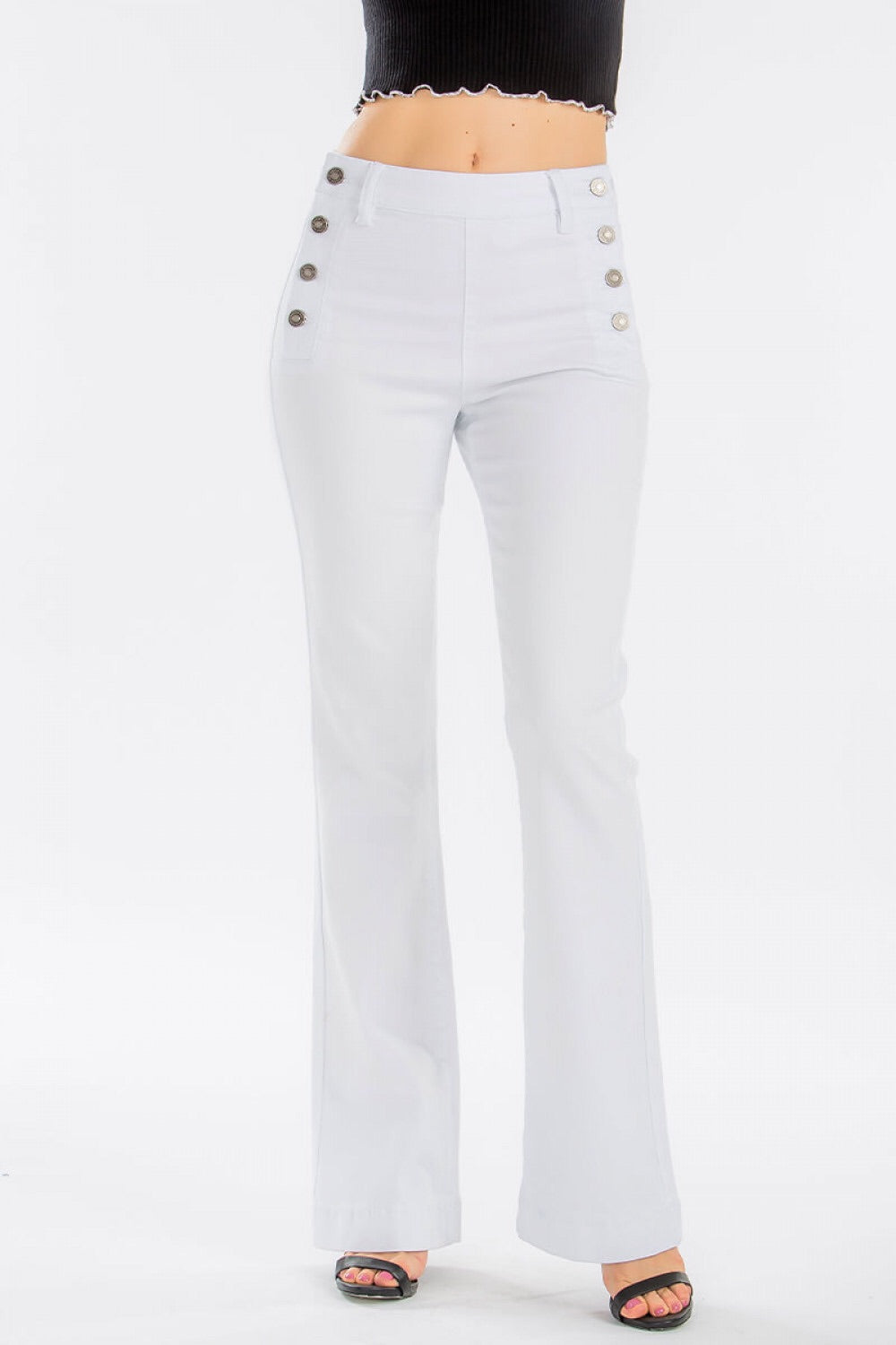 Grace White Trouser Jean