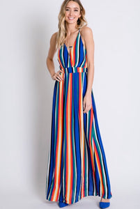 Fiesta Colored Strappy Maxi