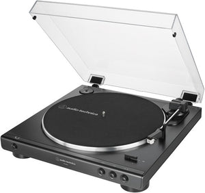 Audio Technica AT-LP60X-BK Fully Automatic Belt-Drive Turntable (Black)
