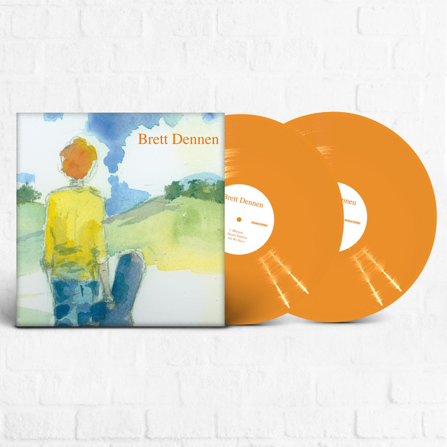 Brett Dennen - Brett Dennen [Limited Edition Orange]