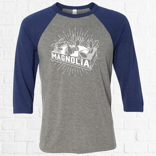Magnolia Record Club Baseball T
