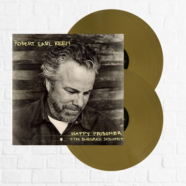 Robert Earl Keen - Happy Prisoner (Limited Edition Gold Double LP)