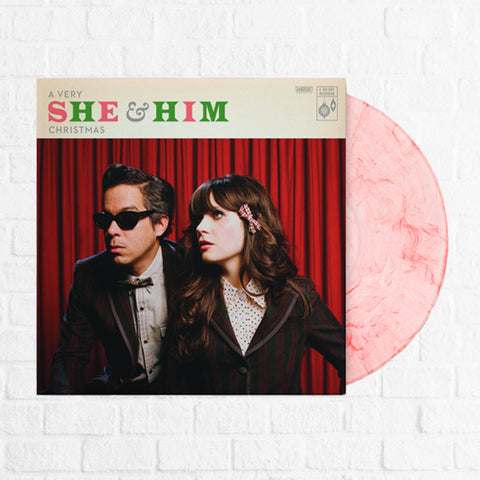 She & Him - A Very She & Him Christmas [Magnolia Exclusive Candy Cane] [Pre-Order]