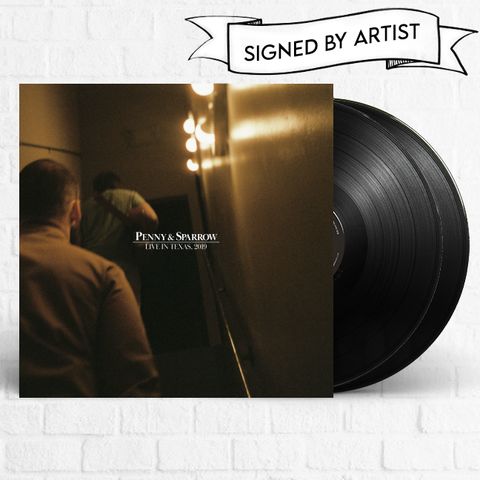 Penny & Sparrow - Live In Texas, 2019 [Signed][Pre-Order]