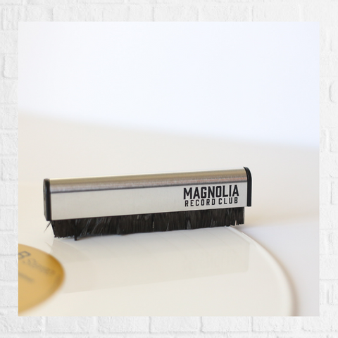 Magnolia Record Club Vinyl Brush