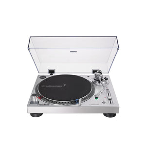 Audio-Technica AT-LP120XUSB  Direct-Drive Professional Turntable (USB & Analog), Silver