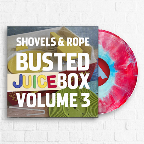 Shovels & Rope - Busted Jukebox Volume 3 [Exclusive Red & Blue] [Preorder]