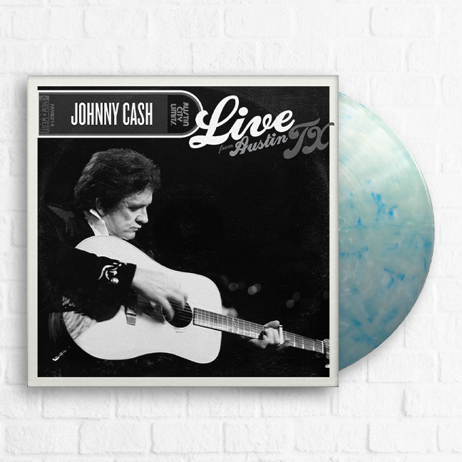 Johnny Cash - Live at ACL [Exclusive Blue] [Pre-Order]