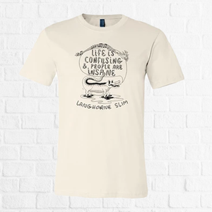 Langhorne Slim - Life Is Confusing Tee
