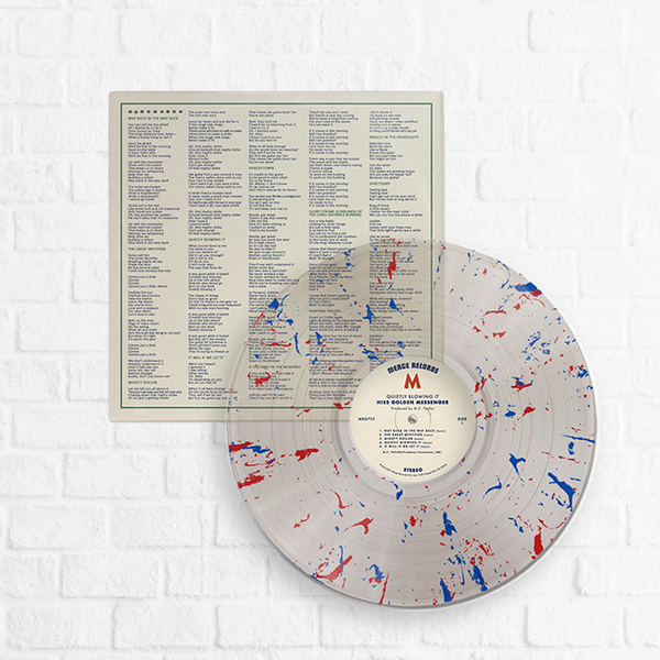 Hiss Golden Messenger - Quietly Blowing It [Exclusive Red & Blue Speckle] [Pre-Order]