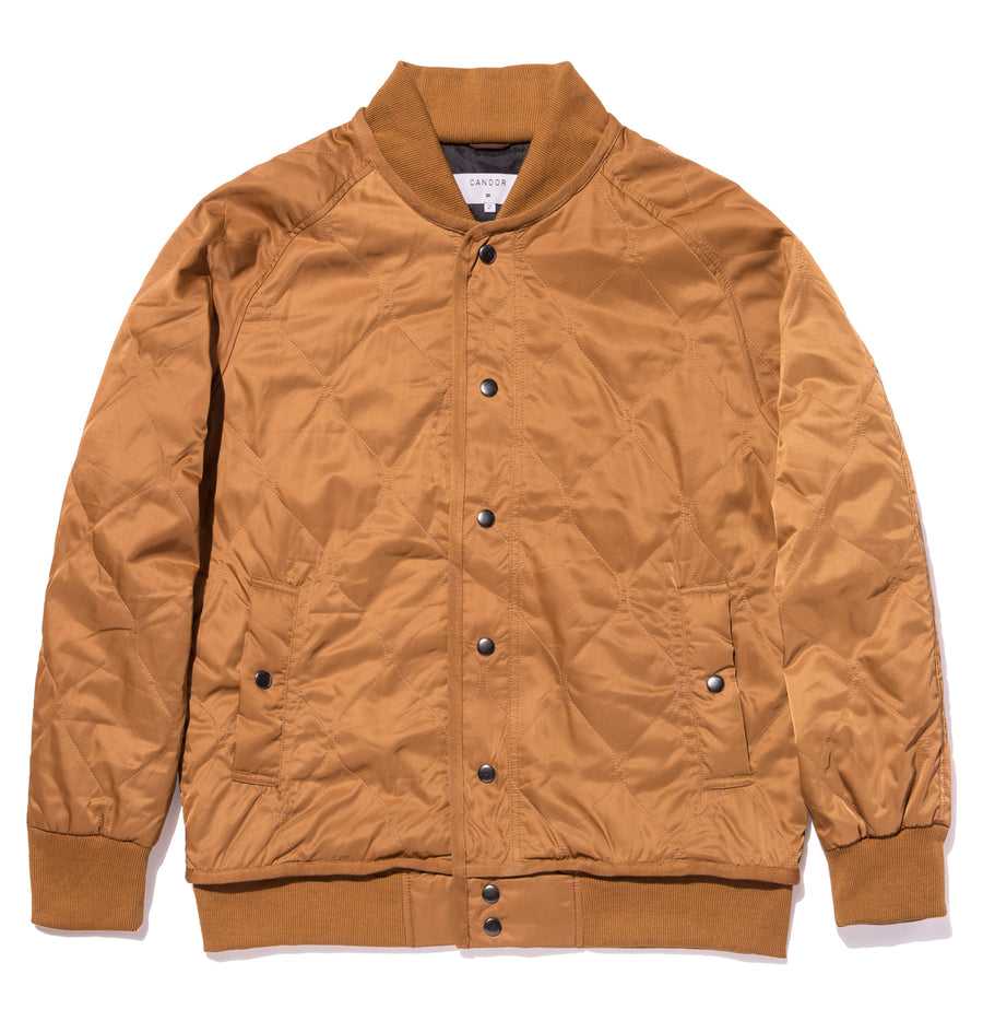 candorofficial - QUILTED LINER BOMBER JACKET - Outerwear