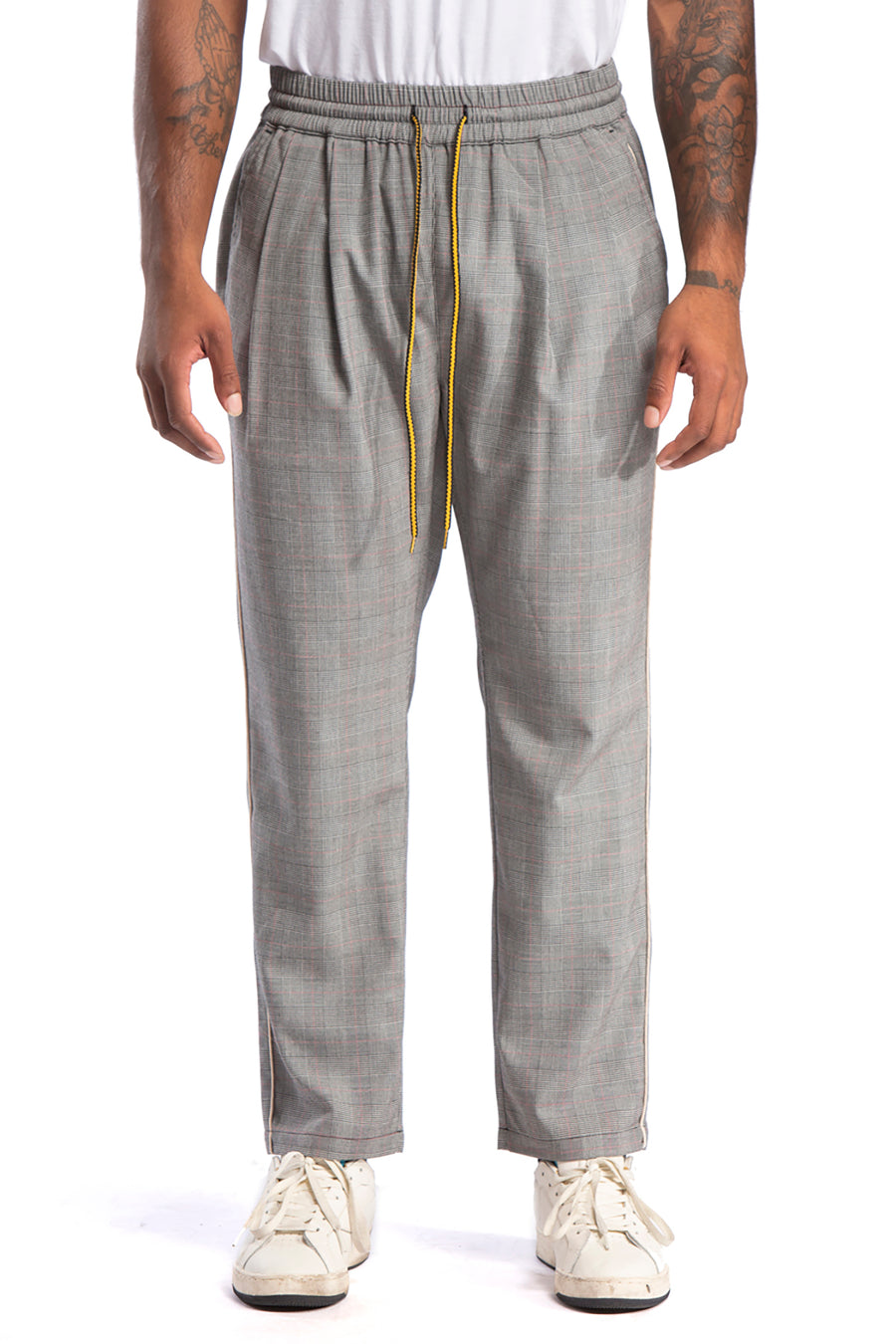 Rossmoor Pant, Grey Check