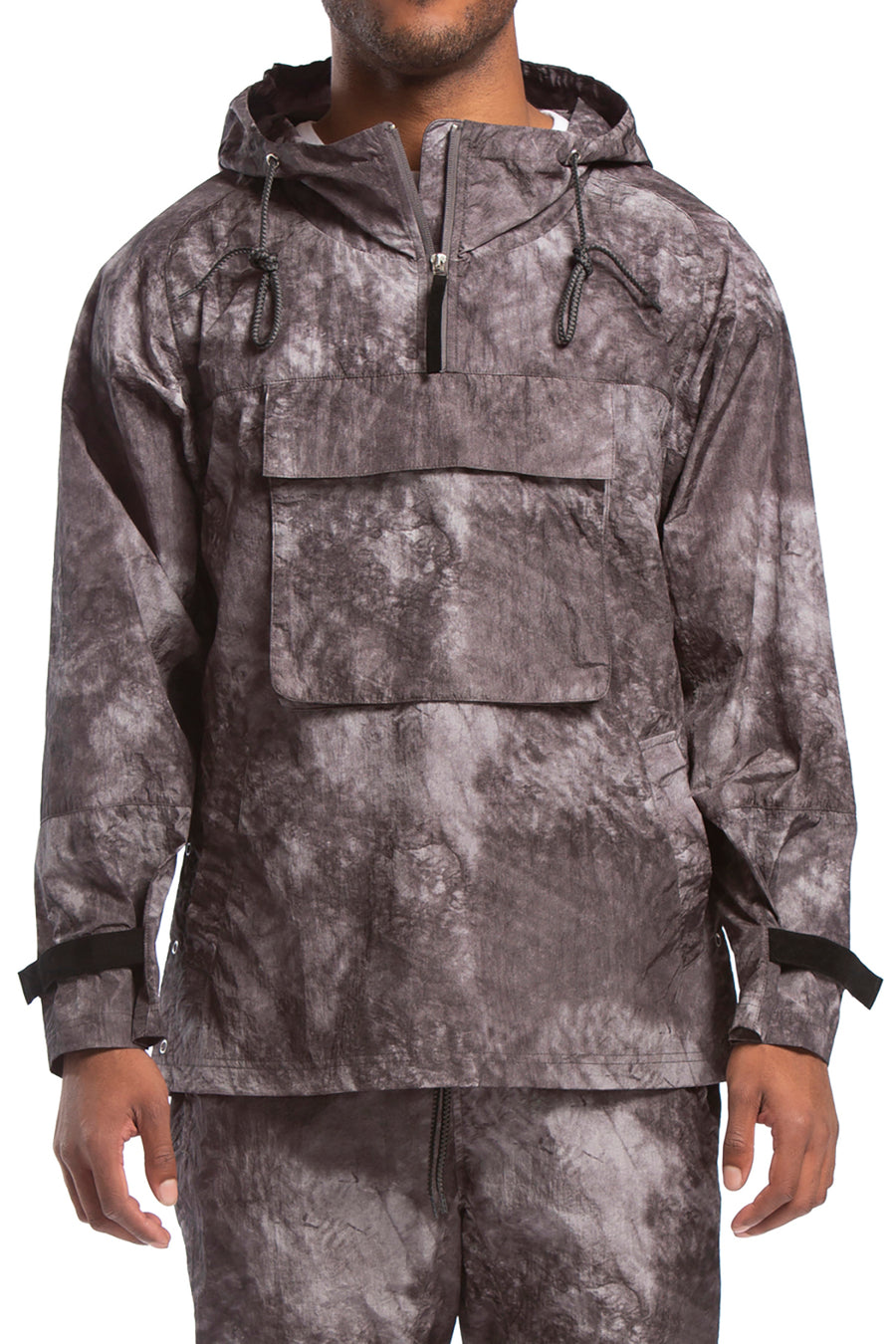 candorofficial - Grath Anorak, Black Shadow Camo - Outerwear