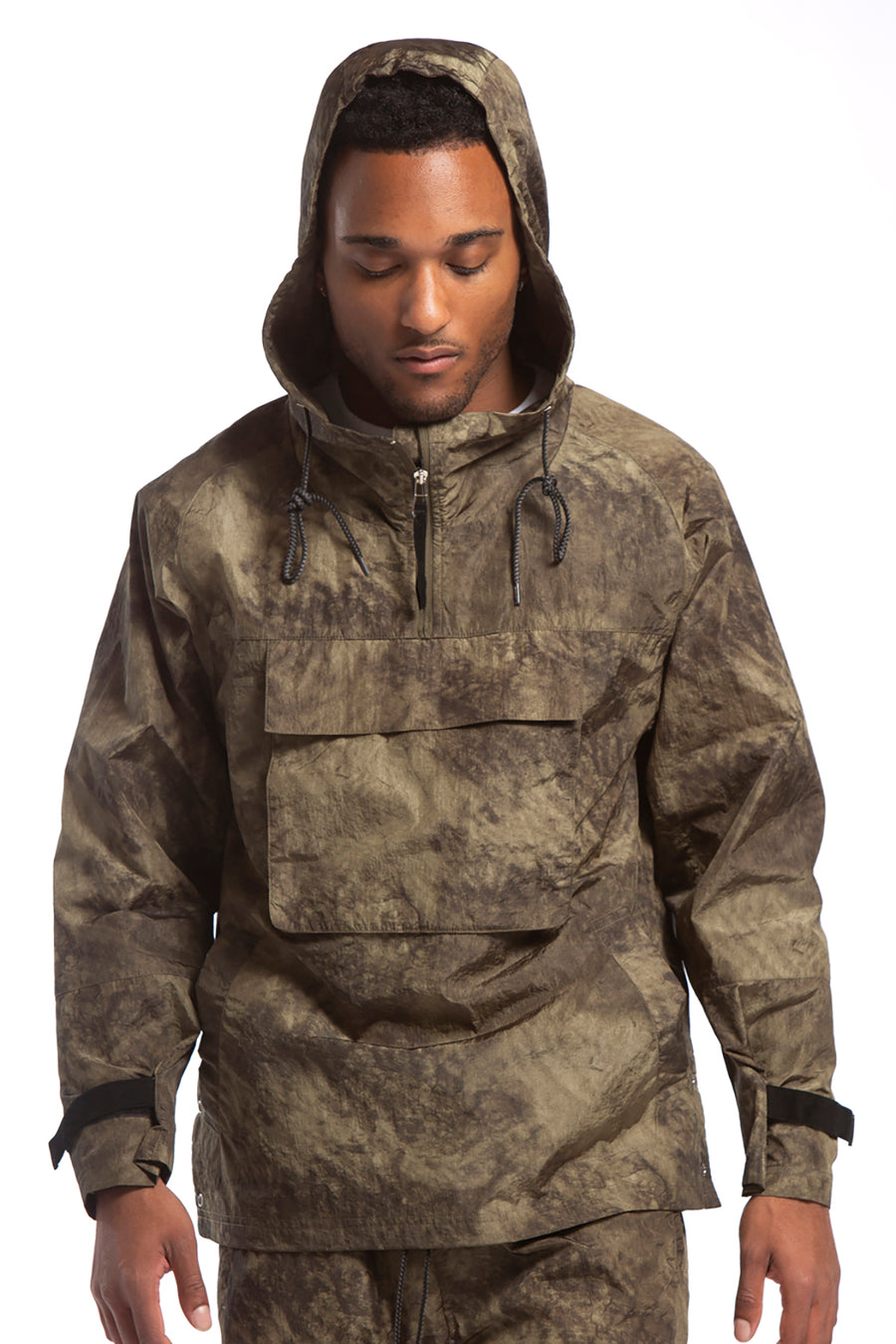 candorofficial - Grath Anorak, Green Shadow Camo - Outerwear